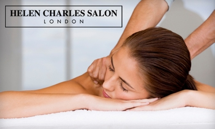Helen Charles Salon - Weston: $40 for a One-Hour Deep-Tissue Massage at Helen Charles Salon in Weston ($80 Value)