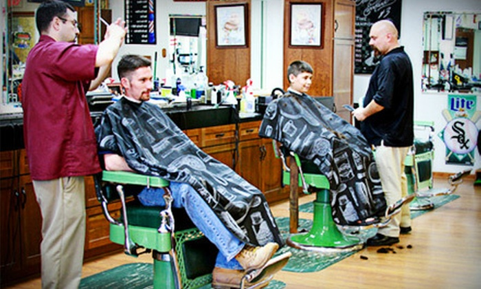 M.E.N.S. Esquire - Lombard: One or Two Men's Haircuts at M.E.N.S. Esquire in Lombard (Up to 52% Off)