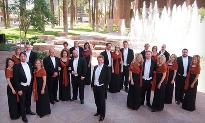 "Phoenix Chorale - Sun City: $12 for One General-Admission Ticket to Phoenix Chorale's Production of ""The Rhythm of Life"" at American Lutheran Church in Sun City (Up to $30 Value)"
