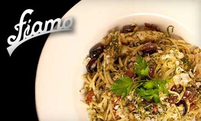 Fiamo Italian Kitchen - Downtown: $15 for $30 Worth of Italian Cuisine and Drink at Fiamo Italian Kitchen