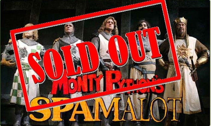 The Auditorium Theatre - South Loop: Tickets to Monty Python's Spamalot for $29 (45% off)