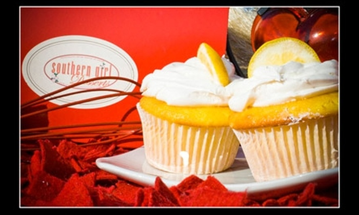 Southern Girl Desserts - Mid-Wilshire: $8 for Six Large Cupcakes From Southern Girl Desserts