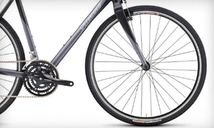 Sabino Cycles - Tucson: $25 for $50 Worth of Bicycle Gear, Parts, and More at Sabino Cycles