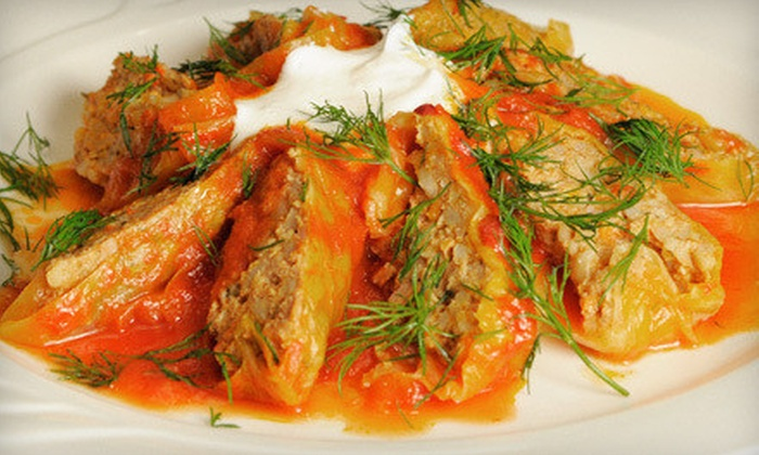 Little Bucharest Bistro - Irving Park: $20 for $40 Worth of Modern European and Romanian Fare and Drinks at Little Bucharest Bistro
