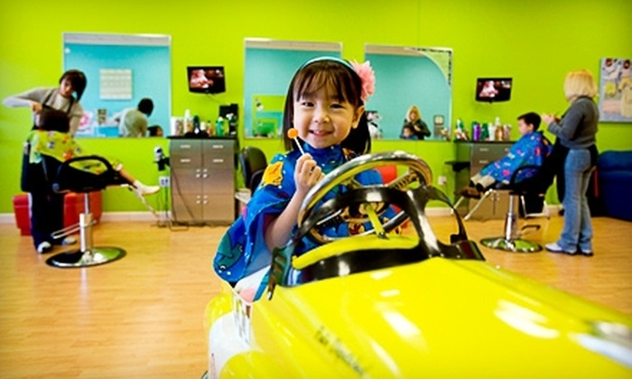 Pigtails & Crewcuts - Little Rock: $8 for One Child's Haircut at Pigtails & Crewcuts ($15.95 Value)