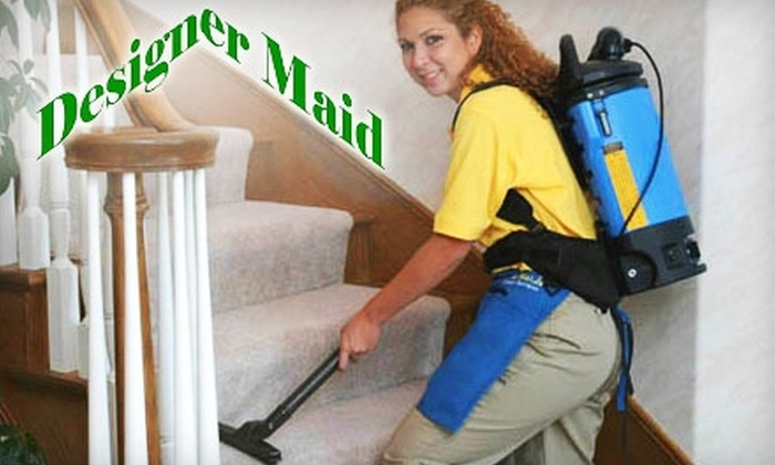 Designer Maid - Asheville: $52 for Three Man-Hours of Housecleaning Services from Designer Maid ($105 Value)