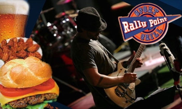 Rally Point Sport Grill - Raleigh / Durham: $12 for $25 Worth of Grill Fare and Drinks at Rally Point Sport Grill