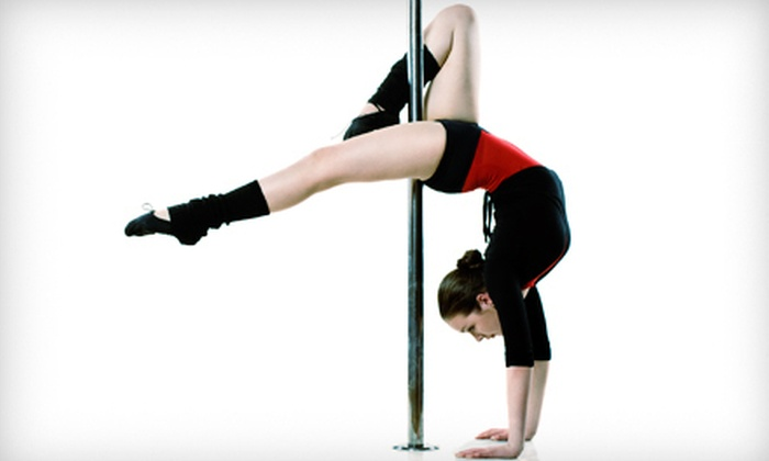 Alter Ego Pole Fitness & Wellness Studio - Newark Central Business District: Pole-Dancing Classes or Pole-Dancing Party at Alter Ego Pole Fitness & Wellness Studio in Newark (Up to 76% Off). Three Options Available.