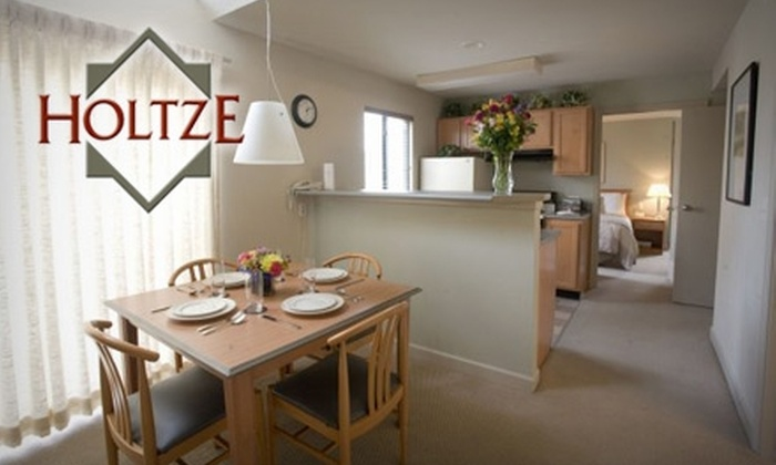 Holtze Executive Village - Commerce Terrace: $69 for a Stay in a Luxury One-Bedroom Suite with Breakfast for Two at Holtze Executive Village in Overland Park ($139 Value)