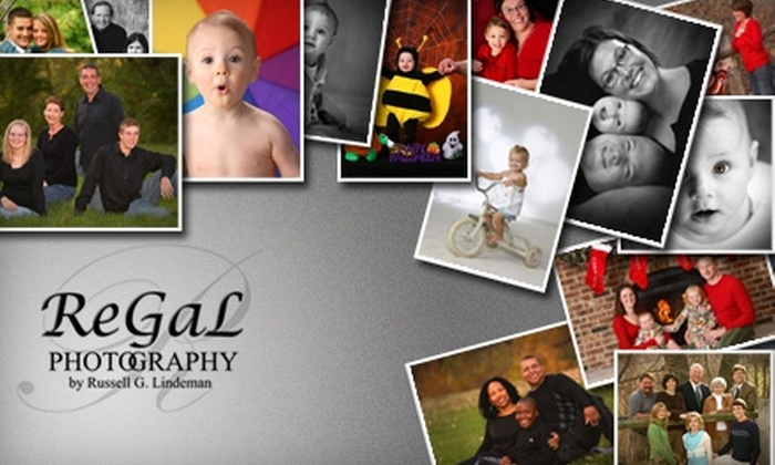 ReGaL Photography - West Omaha: $50 for a One-Hour Studio Session and Choice of Print Package at ReGaL Photography