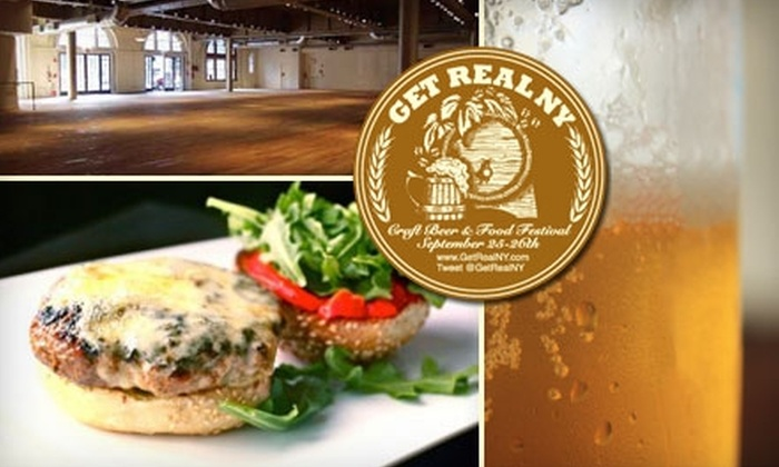 Get Real NY - Chelsea: $30 for One Ticket to the Get Real NY Craft Beer & Food Festival