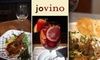 Jovino CLOSED - Cow Hollow: $15 for $35 Worth of Meals, Wine, Coffee, and More at Jovino