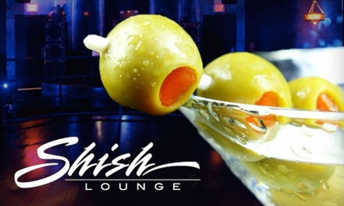 Shish Lounge - West Hartford: $10 for $20 Worth of Sophisticated Fare and Drinks at Shish Lounge