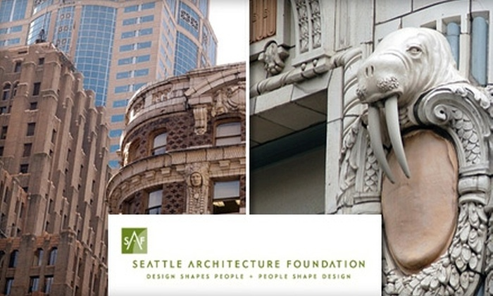 The Seattle Architecture Foundation  - Central Business District: $15 for a Tour from The Seattle Architecture Foundation