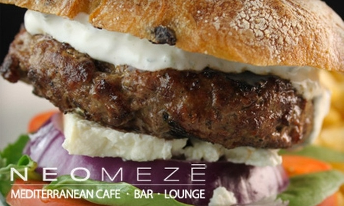 NEOMEZE - Old Pasadena: $15 for $30 Worth of Modern Pub Fare and Drinks at Neomeze