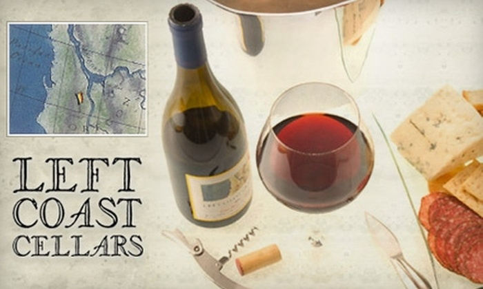 Left Coast Cellars - Dallas: $20 for Two Glasses of Wine and Truffles at Left Coast Cellars in Rickreall ($42 Value)