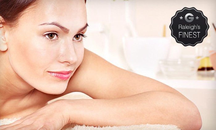 White Dahlia - North Raleigh: 90-Minute Massage with Optional Facial at White Dahlia (Up to 54% Off)