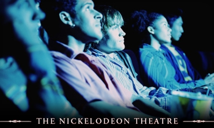 The Nickelodeon - Downtown Santa Cruz: $11 for Movie Ticket for One and Unlimited Soda and Popcorn for Two People at The Nickelodeon ($27.50 Value)