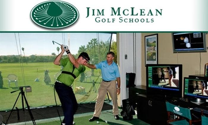 Jim McLean Golf School  - Doral Resort and Country Club: $70 Golf Lesson with Jim McLean Golf School ($140 Value)
