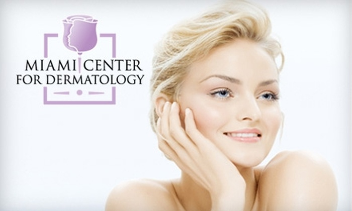 Miami Center for Dermatology - Multiple Locations: $99 for 15 Units of Botox or Two Alma Accent Cellulite-Removal Treatments at Miami Center for Dermatology (Up to $900 Value)
