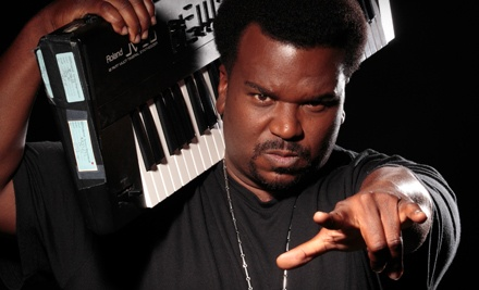 Craig Robinson and The Nasty Delicious at Fox Theater on Sat., Nov. 19 at 8PM: Tier 2 and 3 Seating - Craig Robinson and The Nasty Delicious in Mashantucket