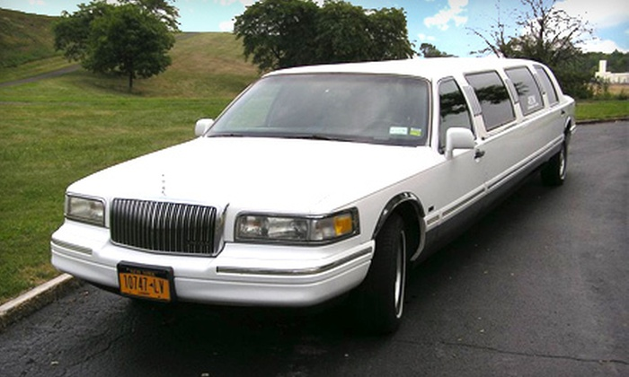 JEM Limousine Service - Amherst: $89 for a Three-Hour Limousine Ride from JEM Limousine Service ($195 Value)