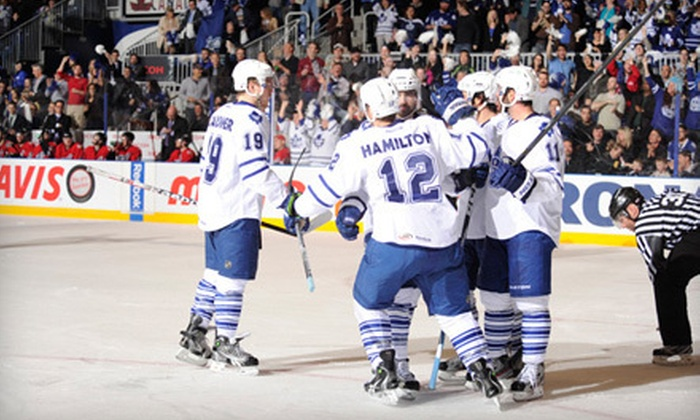 Toronto Marlies - Toronto: Toronto Marlies Conference Finals Playoff Hockey Game at Ricoh Coliseum on May 23 at 7 p.m. (Up to $10.50 Off)