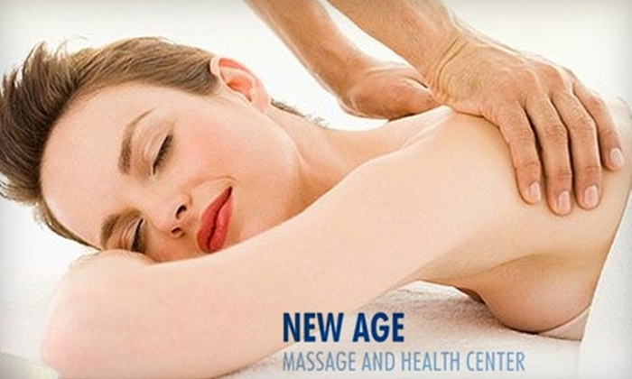 New Age Massage and Health Center - Davie: $39 for $80 Worth of Spa Services at New Age Massage and Health Center