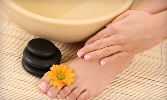 Lua Nail Bar - Lionville: $40 for a Shellac Manicure and Pedicure at Lua Nail Bar in Exton ($80 Value)