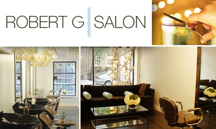 Robert G Salon - West Village: $50 for $110 Worth of Five-Star Services at Robert G Salon