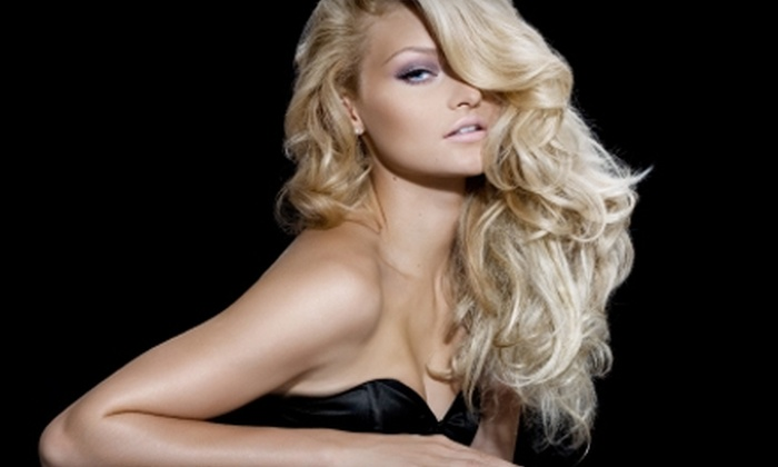 A Captured Look Salon & Spa - Clearbrook Commercial: $65 for Foils, Cut, and Style (Up to $150 value) or $20 for Shampoo, Cut, and Style ($40 Value) at A Captured Look Salon & Spa