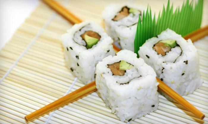 Tsubaki Hibachi Grill & Sushi - Lafayette: Japanese Fare for Lunch or Dinner at Tsubaki Hibachi Grill & Sushi in Lafayette
