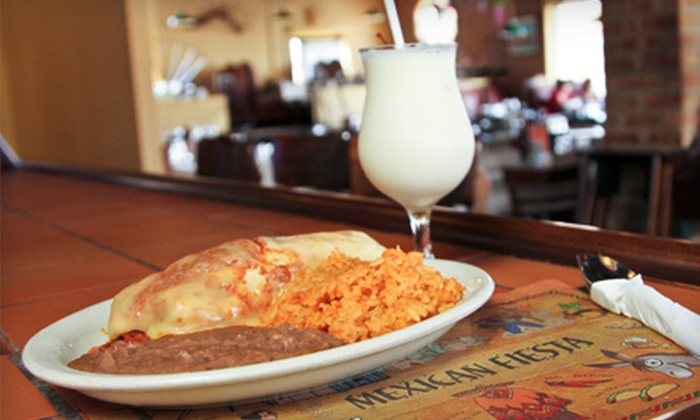 La Fiesta - Mount Greenwood: $12 for $25 Worth of Mexican Cuisine Sunday–Thursday or Any Day of Week at La Fiesta