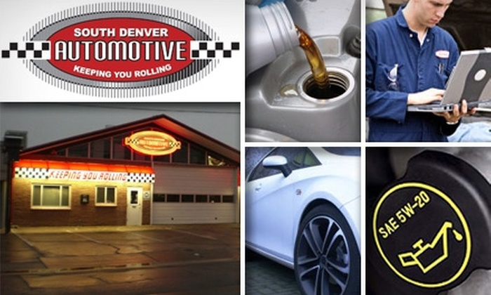 South Denver Automotive - University Hills: $17 for a Lube, Oil, and Filter Change From South Denver Automotive ($35 Value)