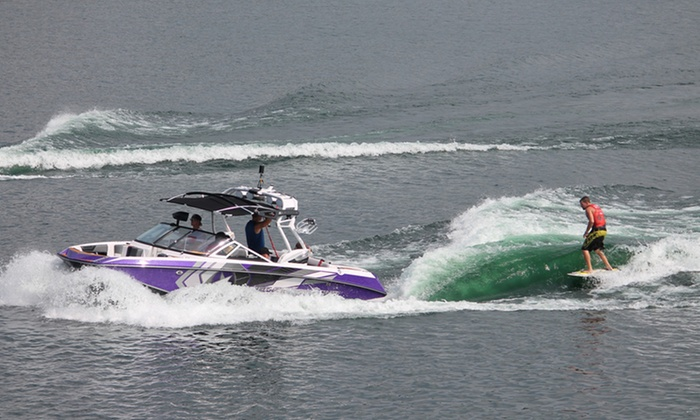 LB Wake & Watersports - Multiple Locations: Jet-Ski Rental, Watersports, Fishing, and More at LB Wake & Watersports (Up to 61% Off). Four Options Available.