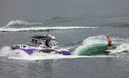 Jet-Ski Rental, Watersports, Fishing, and More at LB Wake & Watersports (Up to 61% Off). Four Options Available.