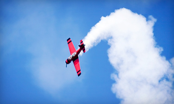 International Pilot Academy - Ottawa: 30- or 60-Minute Fighter-Pilot Flight Experience from International Pilot Academy (Up to 54% Off)