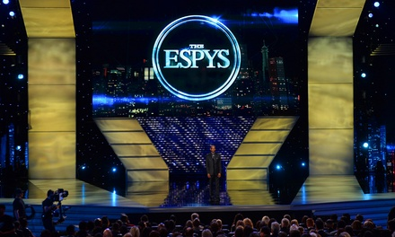 Sweepstakes Entry for VIP ESPYS Tickets + ESPN 30 for 30 Fifth Anniversary Collector's Set on DVD or Blu-ray