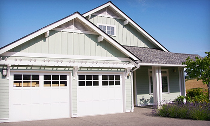 OKI Door Guys - Central Business District: Tune-Up and Inspection for One or Two Garage Doors from OKI Door Guys (Up to 67% Off)