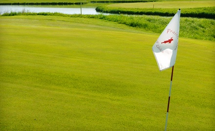Links-Style Golf with Cart at Prairie View Golf Links (Up to 62% Off). Three Options Available.