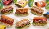 Subway-1545 W. Belmont - Lakeview: $13 for Four Groupons, Each Good for $5 Towards a Sandwich, Chips, and Drink at Subway ($20 Total Value)