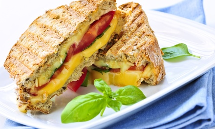 Sandwiches and Smoothies at FUEL (Up to 70% Off). Two Options Available.