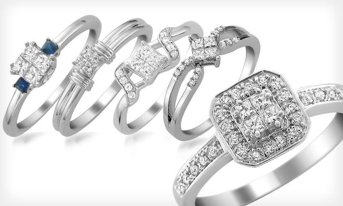 A Jewelers Diamond Rings: A Jewelers Diamond Rings (Up to 67% Off). Multiple Styles and Sizes Available. Free Shipping and Free Returns.