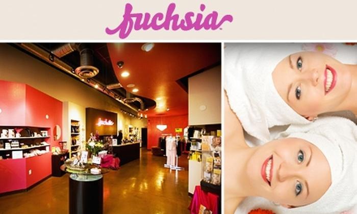 Fuchsia - Mesa: $50 for Multiple Spa Treatments at Fuchsia ($100 Value)