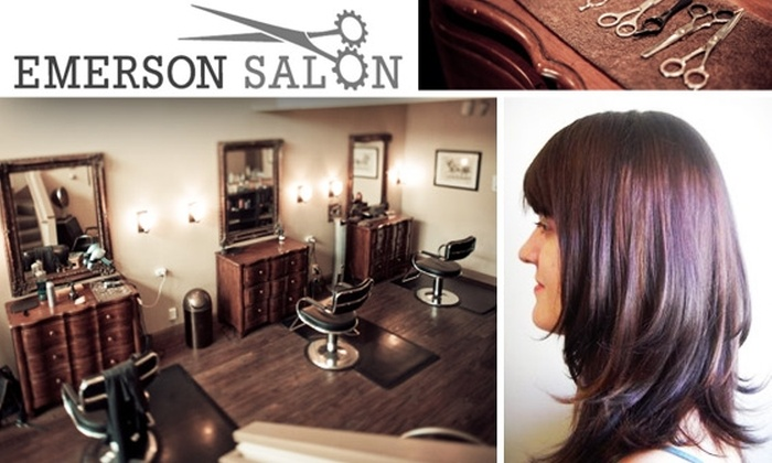 Emerson Salon - Seattle: $15 for Style Cut and Shampoo at Emerson Salon
