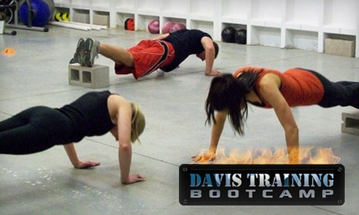 Davis Training Boot Camp - Centennial: $19 for One Month of Unlimited Bootcamp Classes at Davis Training Boot Camp in Centennial ($180 Value)