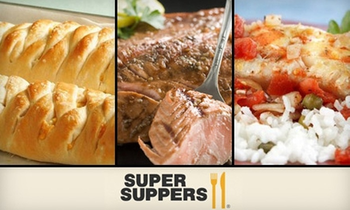 Super Suppers Franklin - Franklin: $12 for $25 Worth of Grab 'n Go Meals from Super Suppers