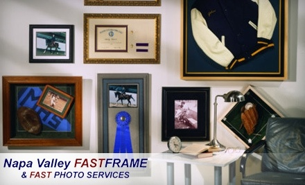 Napa Valley FastFrame: $100 Worth of Custom and Ready-Made Framing - Napa Valley FastFrame in Napa