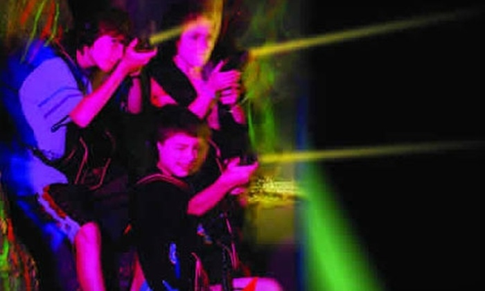 Laser Kingdom - Multiple Locations: $4 for Two Games of Laser Tag at Laser Kingdom (Up to $8 Value)