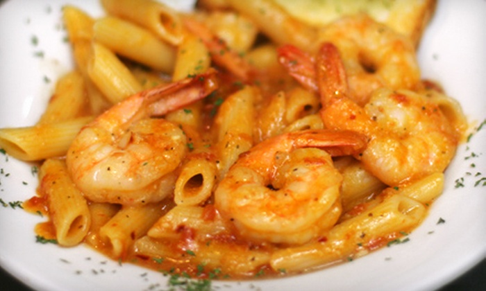 Café Rialto - Lower Washington - Mount Hope: Italian-American Four-Course Meal for Two or Four at Café Rialto in Roslindale